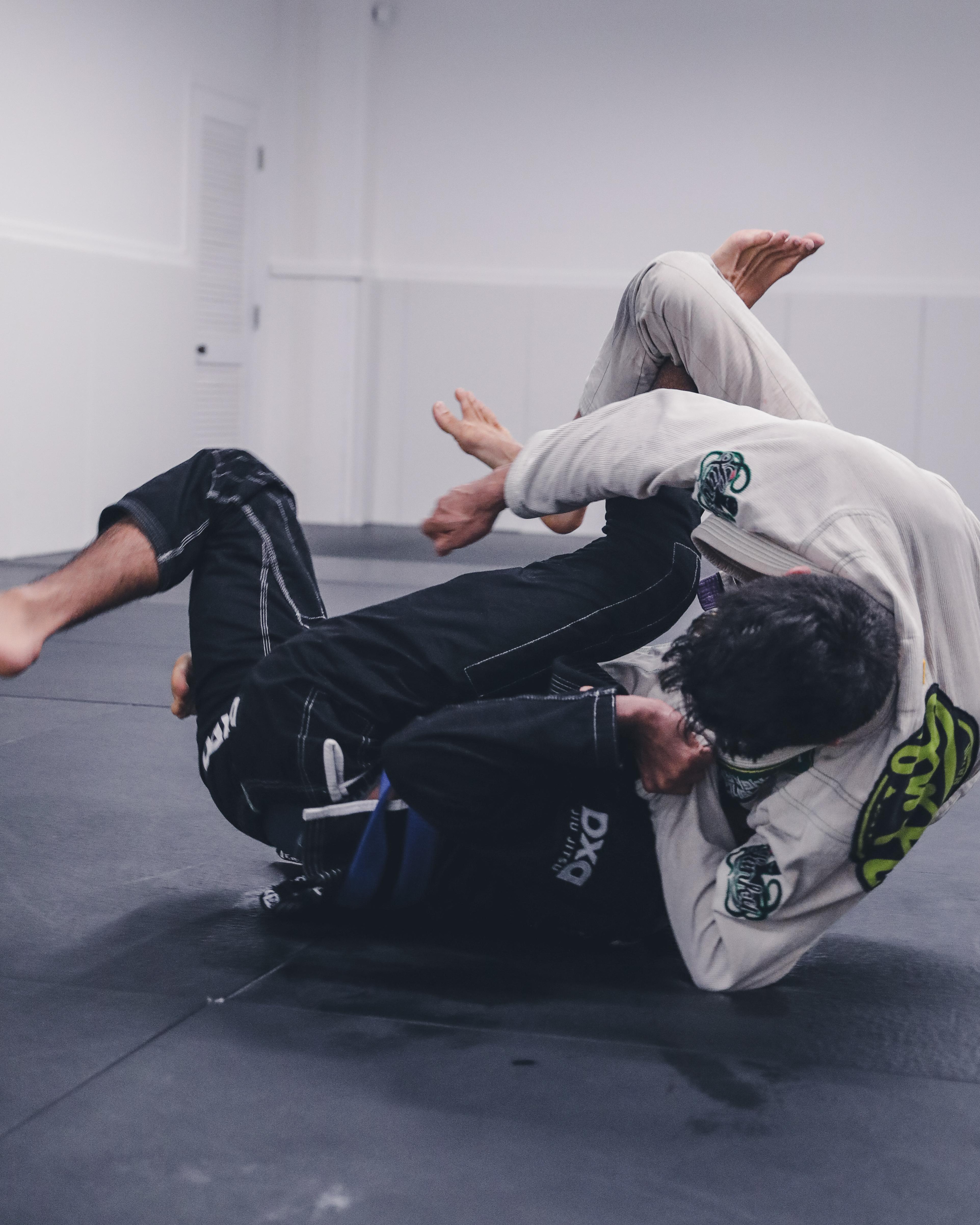 Jiu Jitsu Sweep