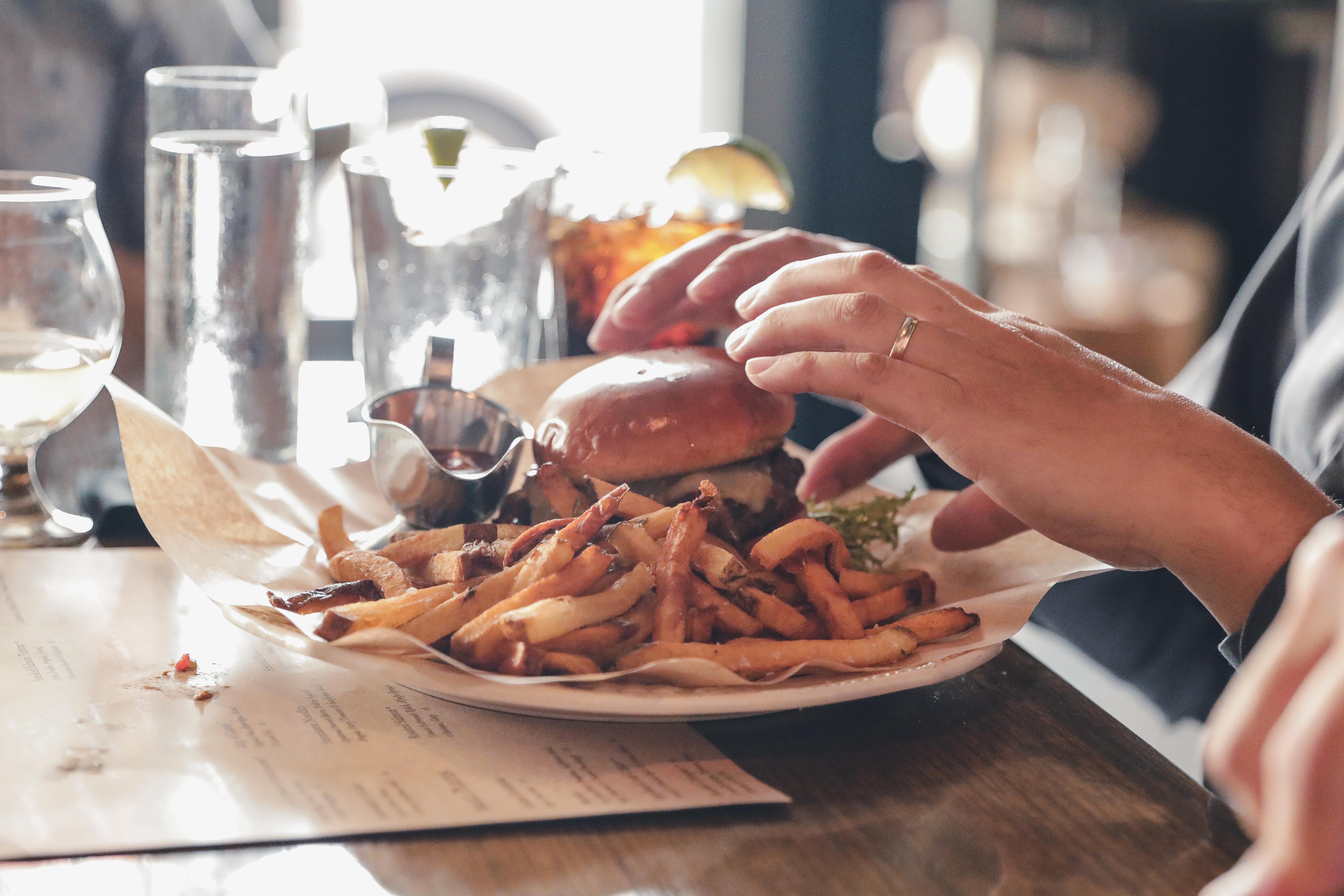 Livestock Tavern Burger