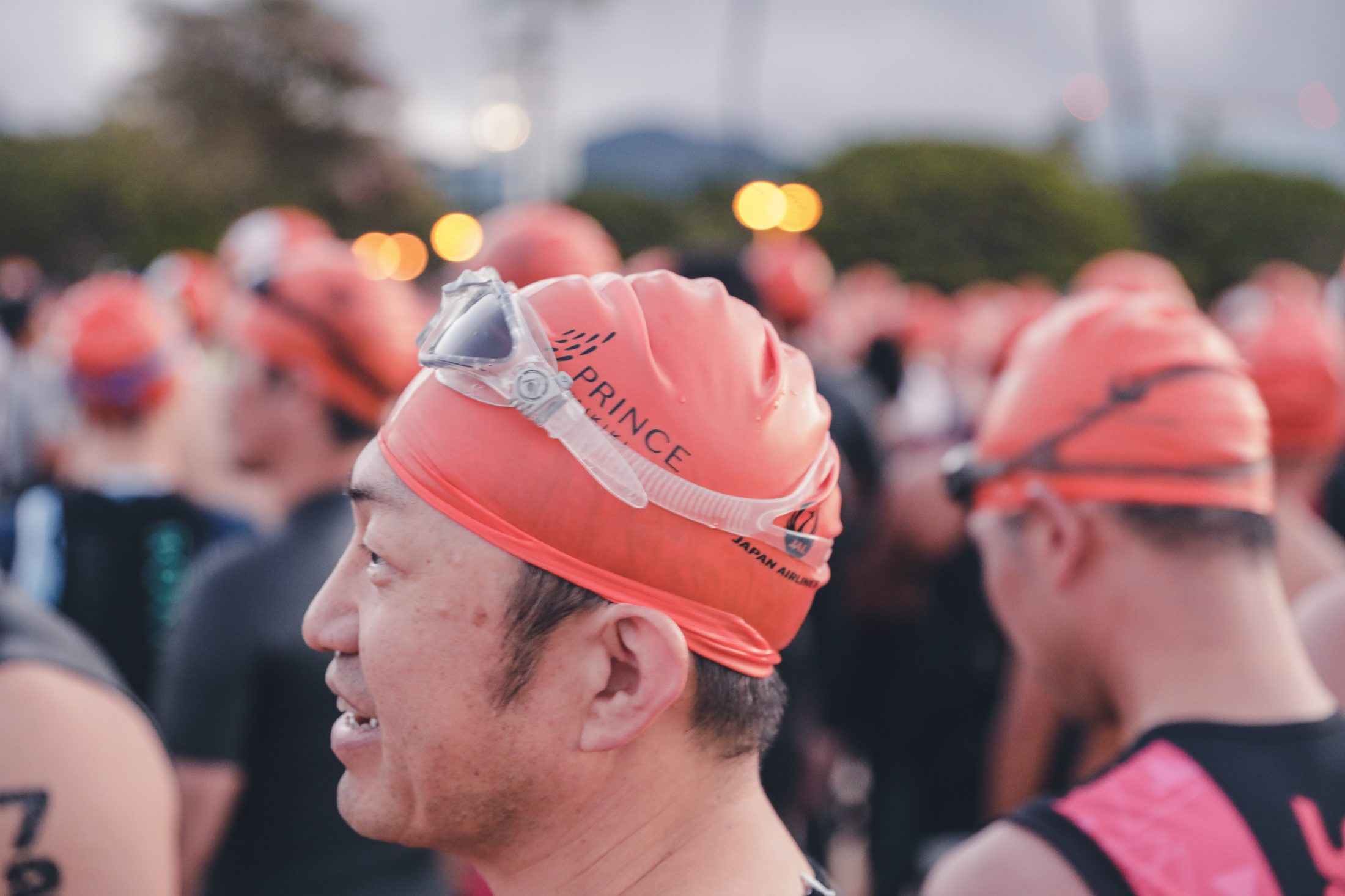 Honolulu Triathalon Caps