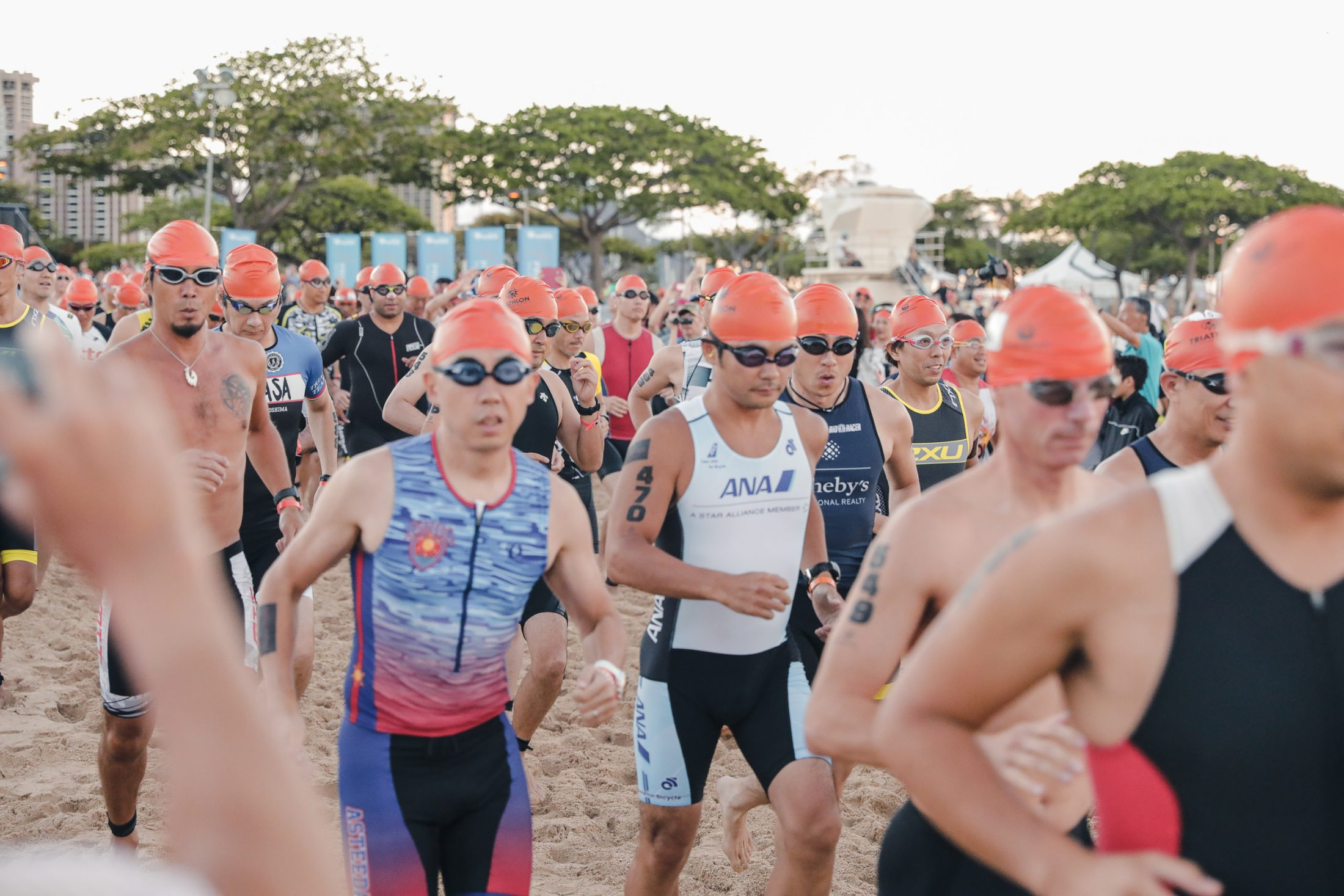 Honolulu Triathalon Men