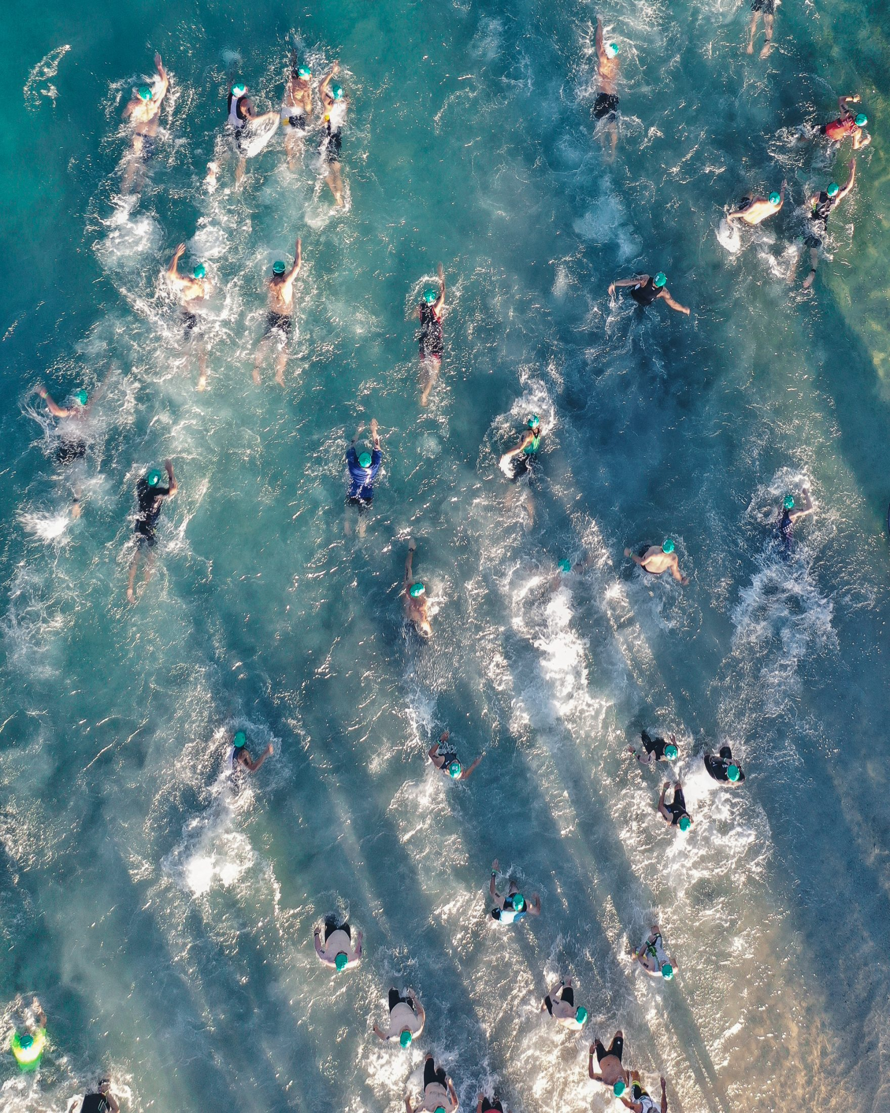 Honolulu Triathalon Swimming