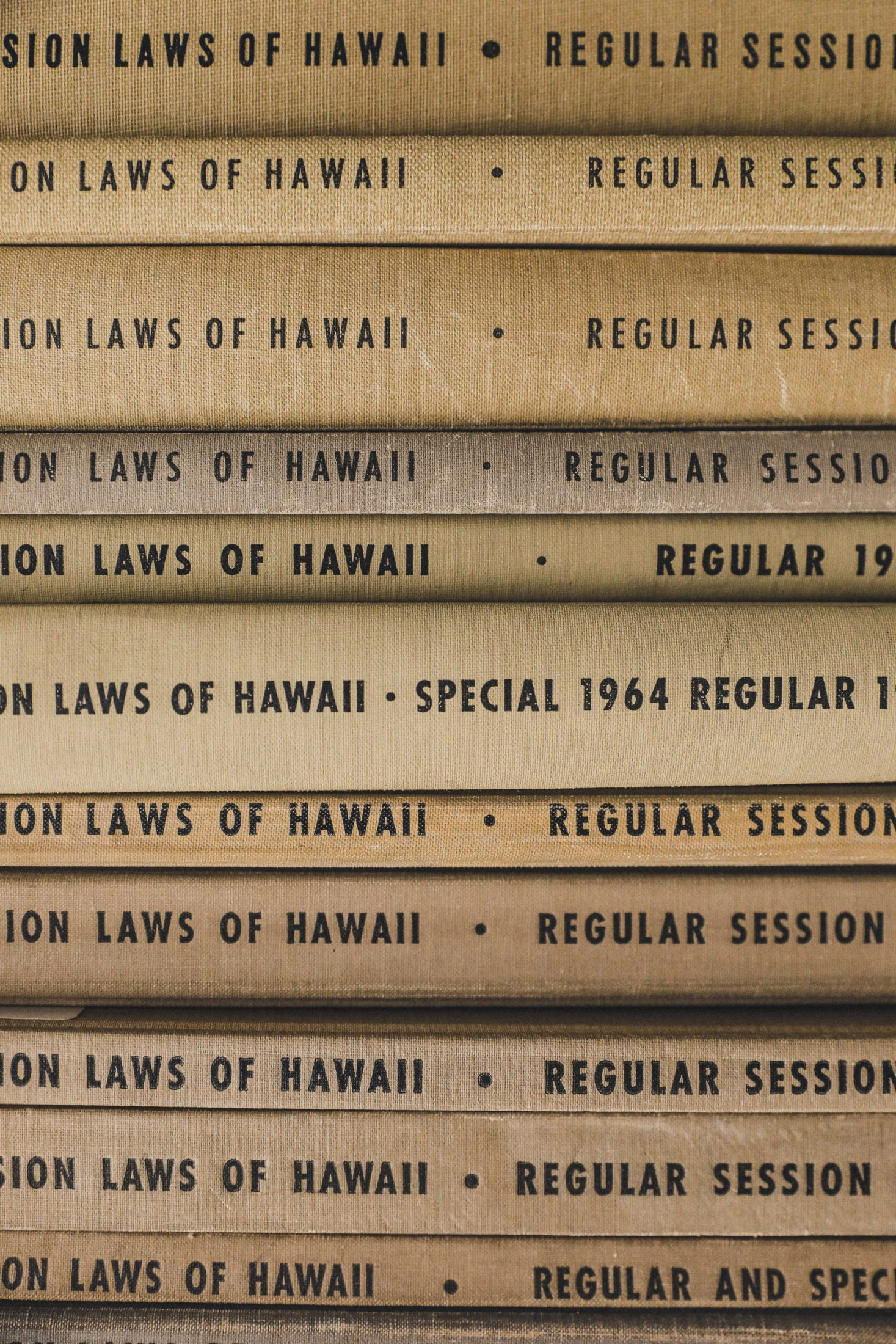 session laws of hawaii