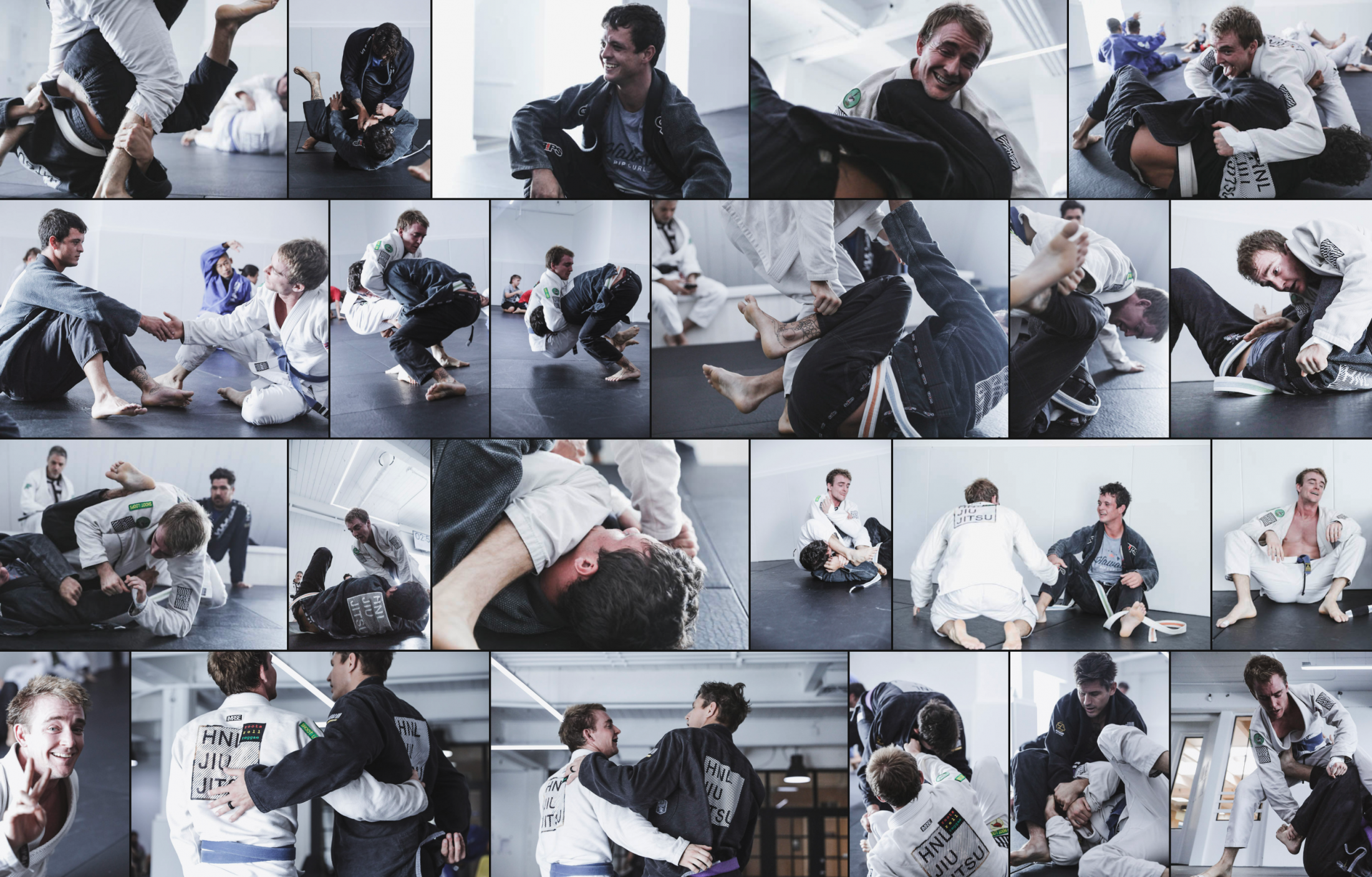Honolulu Jiu Jitsu Collage